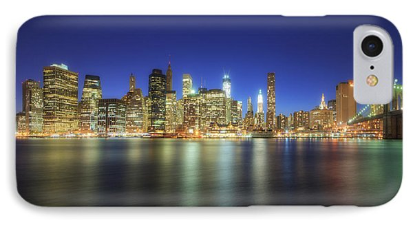 Manhattan Nite Lites Nyc IPhone Case
