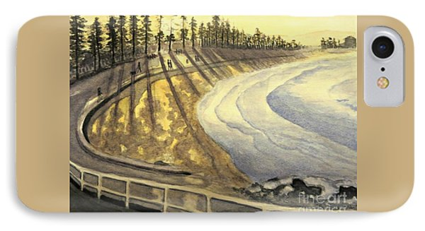 Manly Beach Sunset IPhone Case