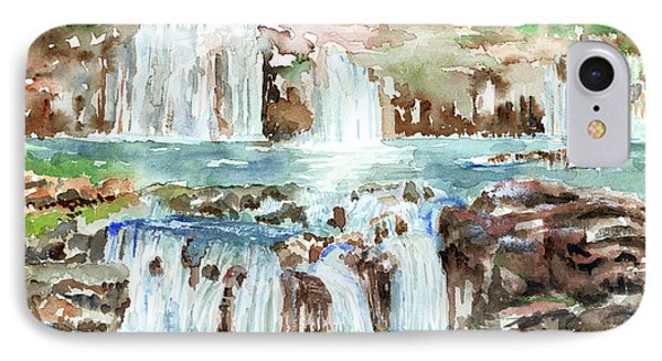 Many Waterfalls IPhone Case