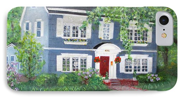 Maplewood Colonial IPhone Case
