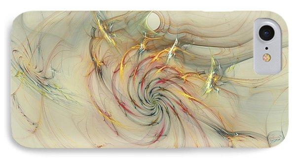 Marble Spiral Colors IPhone Case