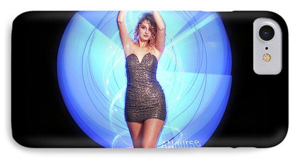 Maria Bringing Magic To The Night. IPhone Case