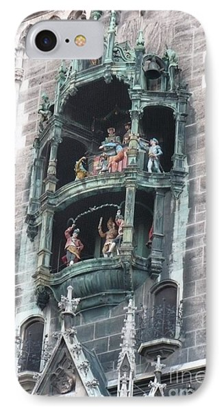 Marienplatz Glockenspiel IPhone Case