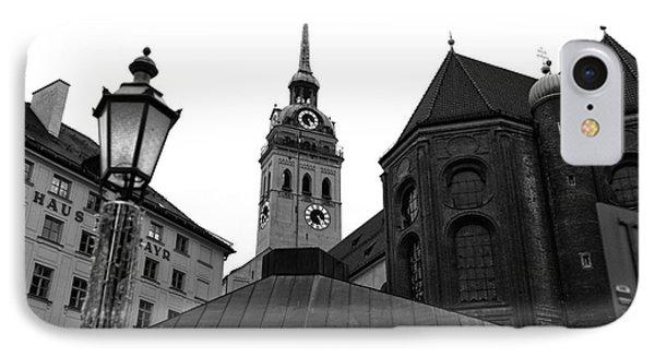 Marienplatz View IPhone Case