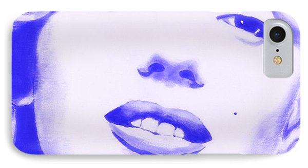 Marilyn Monroe - Blue Tint IPhone Case