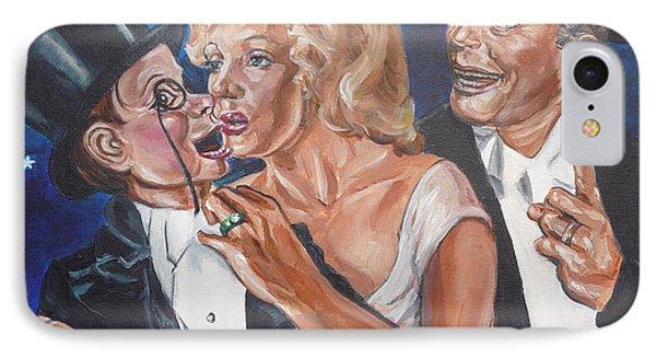 Marilyn Monroe Marries Charlie Mccarthy IPhone Case