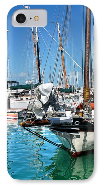 Marinas And Masts  IPhone Case