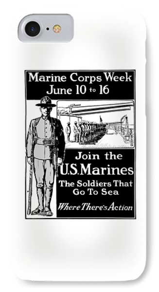 Marine Corps Week - Ww1  IPhone Case