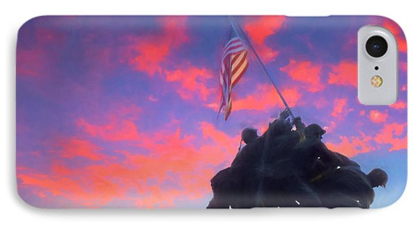 Marines At Dawn IPhone Case