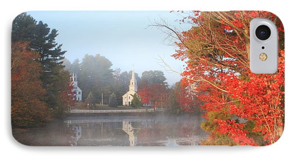 Marlow Village Early Autumn Morning IPhone Case