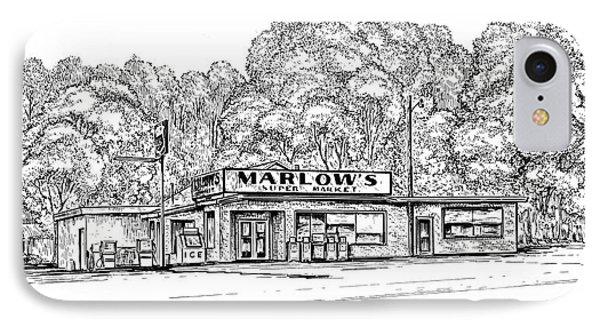 Marlows Market IPhone Case