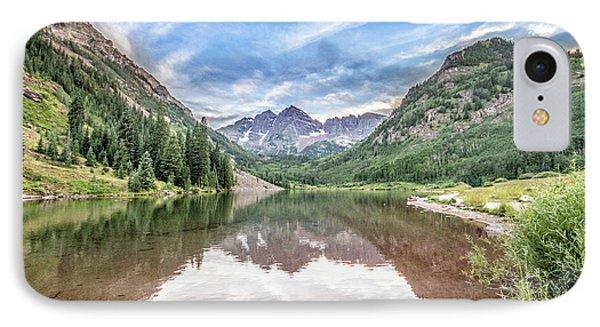 Maroon Bells Near Aspen, Colorado IPhone Case