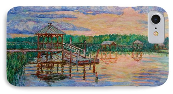 Marsh View At Pawleys Island IPhone Case