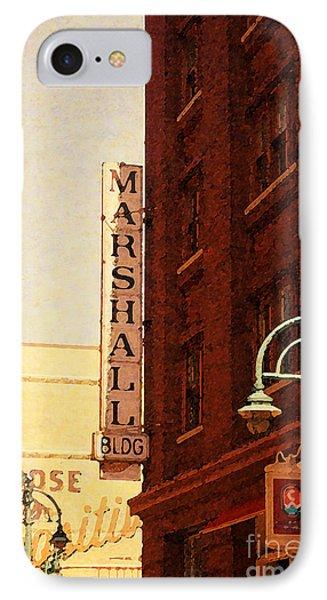 Marshall Bldg IPhone Case