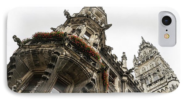 Marvelous Munich - Ornate Neo-gothic Architecture Of Neues Rathaus Or New Town Hall IPhone Case