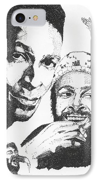 Marvin Gaye Tribute IPhone Case