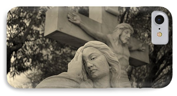Mary Magdalene At The Crucifixion IPhone Case