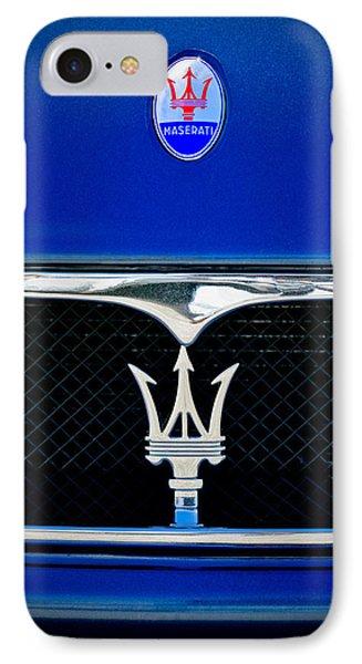 Maserati Hood - Grille Emblems IPhone Case
