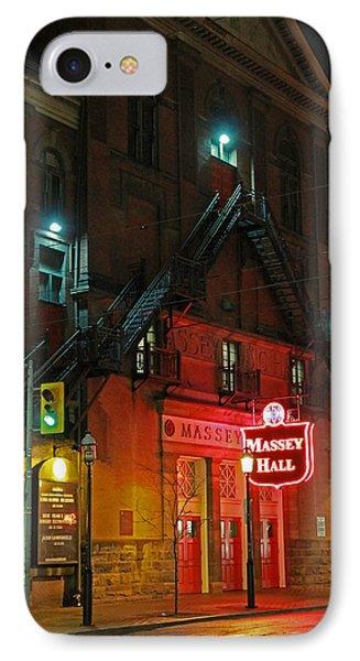 Massey Hall  IPhone Case