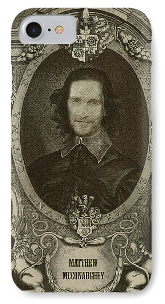 Matthew Mcconaughey   IPhone Case