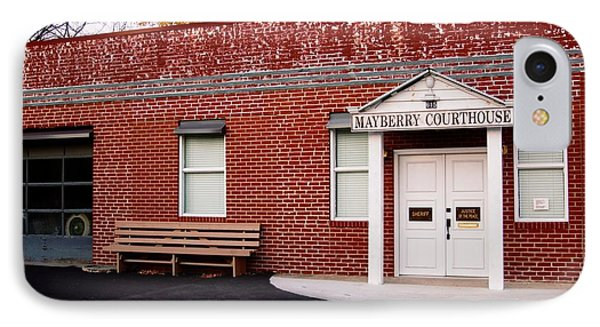 Mayberry Courthouse Nc IPhone Case
