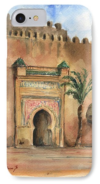 Africa iPhone 8 Case - Medina Morocco,  by Juan Bosco