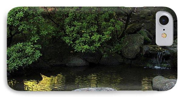 Meditation Pond IPhone Case