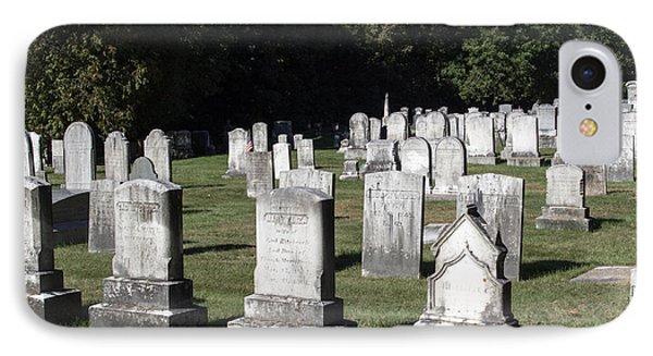 Meeting House Graveyard 1  IPhone Case