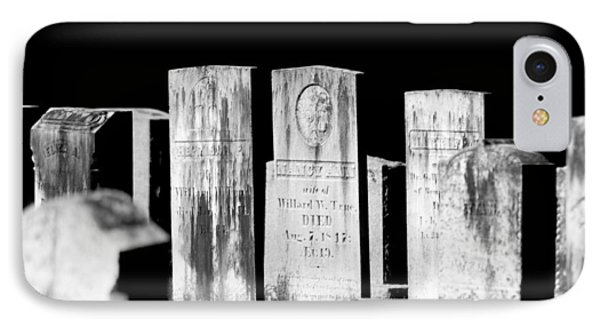 Meeting House Graveyard 4 IPhone Case