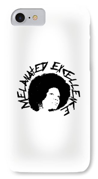 Melanated Excellence I IPhone Case