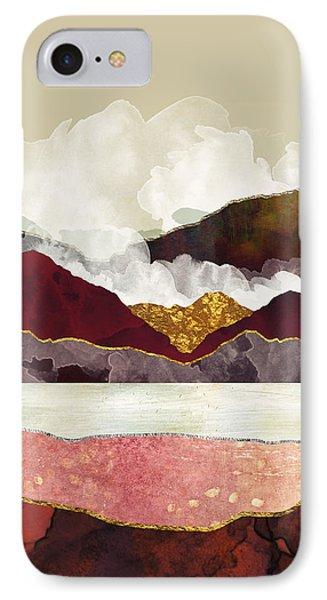 Landscapes iPhone 8 Case - Melon Mountains by Katherine Smit