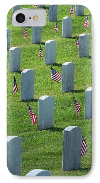 Memorial Flags IPhone Case