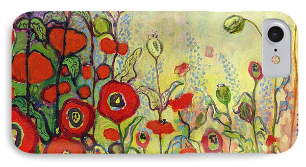 Impressionism iPhone 8 Case - Memories Of Grandmother's Garden by Jennifer Lommers