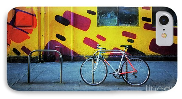 IPhone Case featuring the photograph Mercury Raleigh Bicycle by Craig J Satterlee