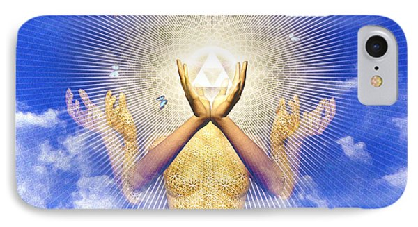 Merkaba Awakening IPhone Case