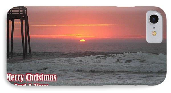 Merry Christmas Sunrise  IPhone Case