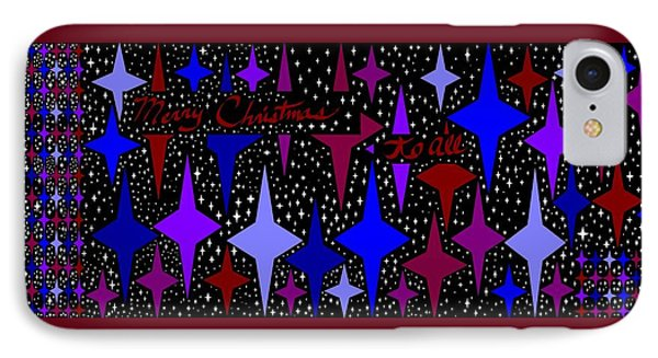 Merry Christmas To All, Starry, Starry Night IPhone Case