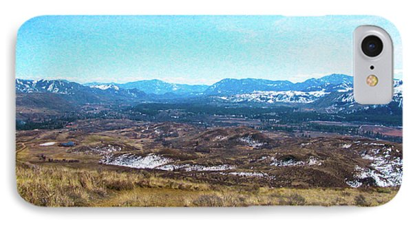 Methow Valley From Above Winthrop Landscape Photography By Omash IPhone Case