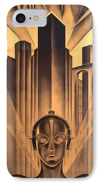 IPhone Case featuring the digital art Metropolis Poster by Chuck Staley