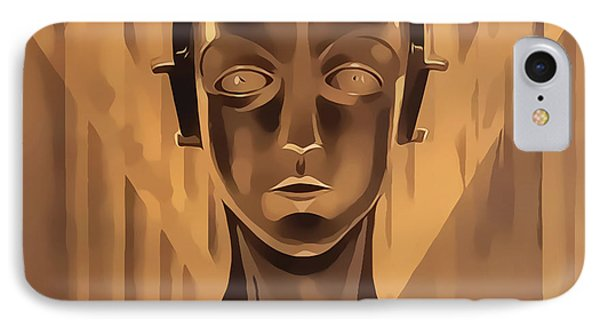 IPhone Case featuring the digital art Metropolis Two by Chuck Staley