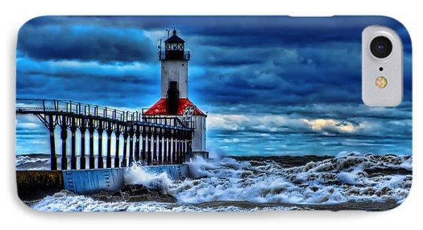 Michigan City Lighthouse IPhone Case