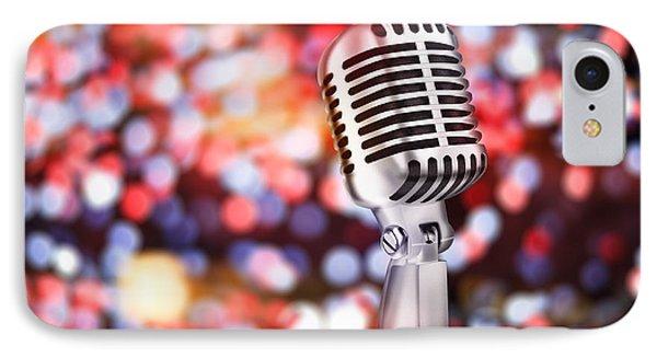 Microphone IPhone Case