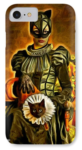 Middle Ages Catwoman IPhone Case