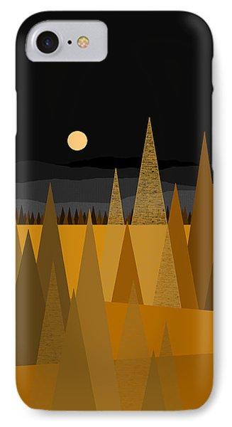 Midnight Gold IPhone Case