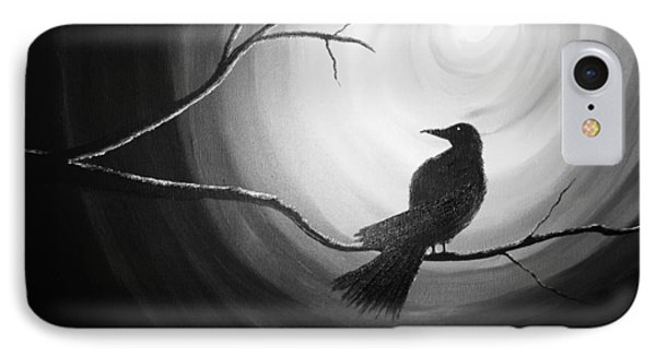 Midnight Raven Noir IPhone Case