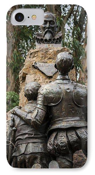 Miguel De Cervantes Memorial IPhone Case