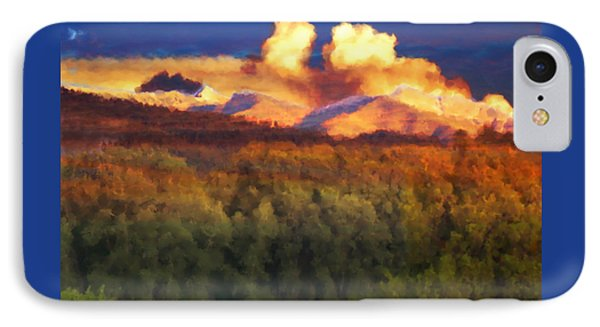 Milagro Cloud Theater Over Truchas Peaks Nm IPhone Case