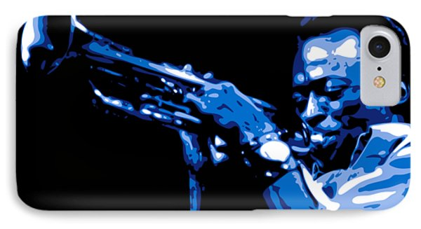 Trumpet iPhone 8 Case - Miles Davis by DB Artist
