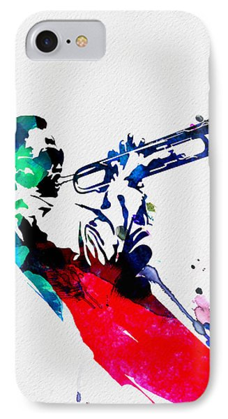 Miles Watercolor IPhone Case