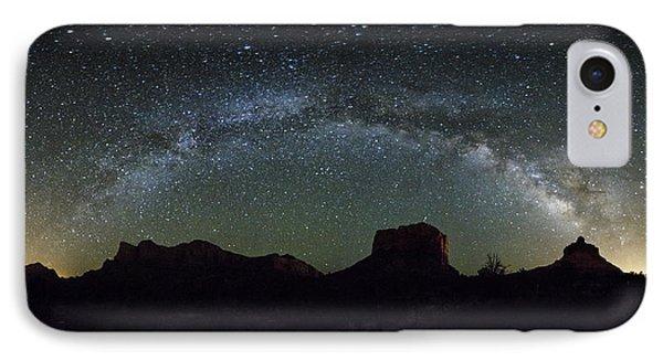 Milky Way Over Bell IPhone Case
